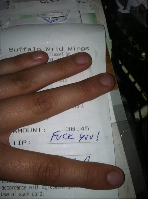 Waiters Tip 11