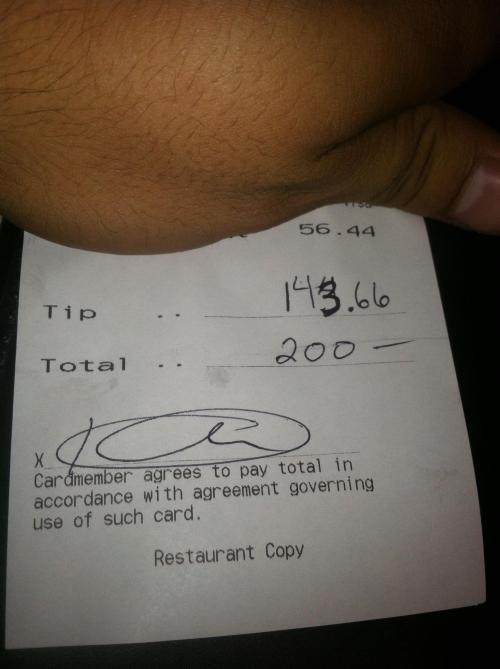 Waiters Tip 3