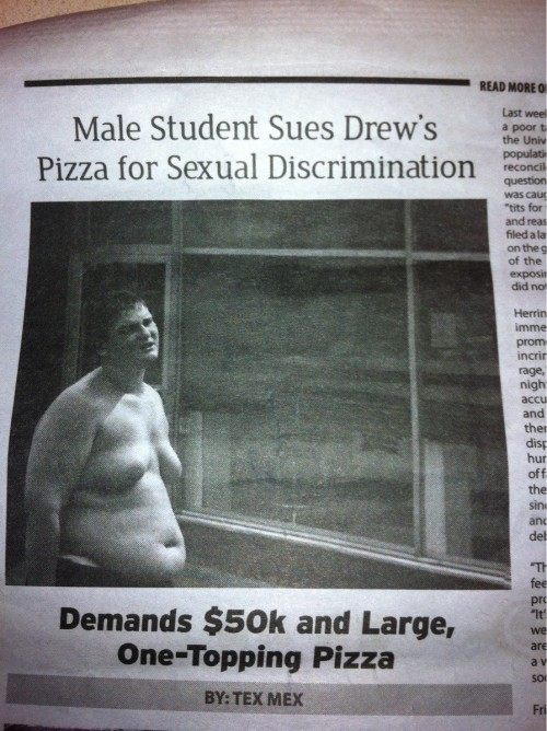sexual discrimination