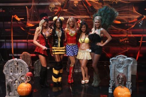 Sexy servers halloween